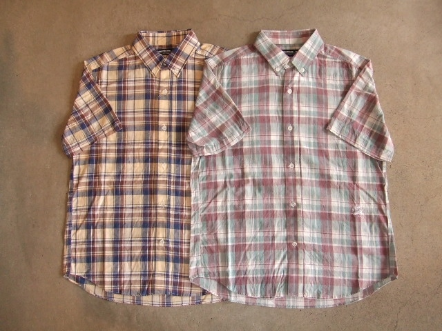 MDY CLASSIC CHECK SHIRTS