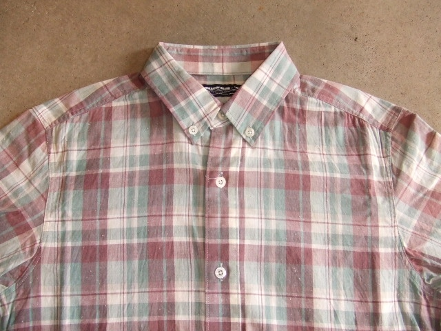 MDY CLASSIC CHECK SHIRTS GREEN FT