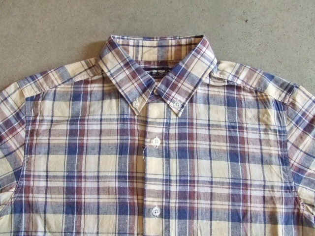 MDY CLASSIC CHECK SHIRTS YELLOW FT