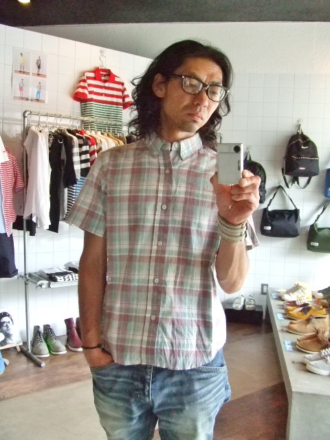 MDY CLASSIC CHECK SHIRTS GREEN ST