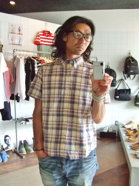 MDY CLASSIC CHECK SHIRTS YELLOW ST