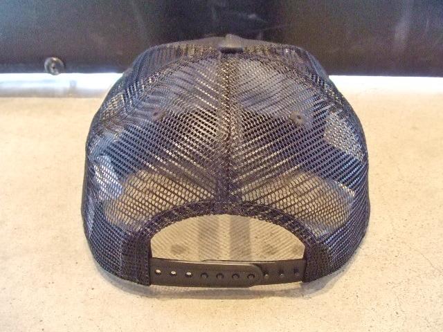MDY COTTON MESH CAP BLACK BK