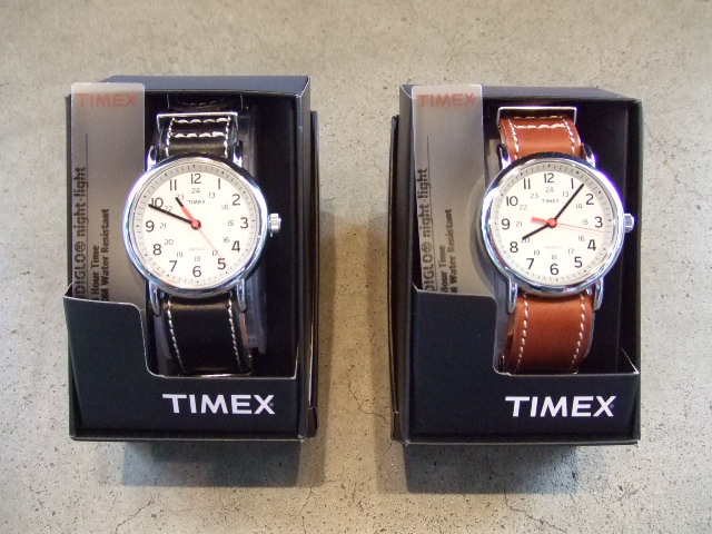 rehacer×TIMEX×Cramp leather belt watch