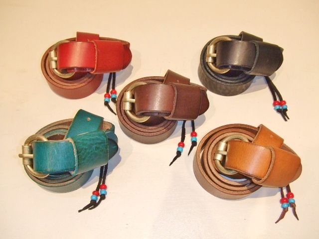 rehacer Color leather belt2