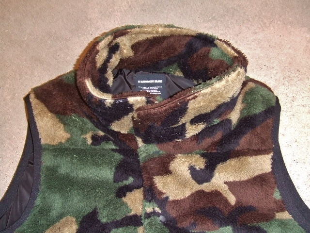 MDY BOA FLEECE VEST WOODLAND FT1