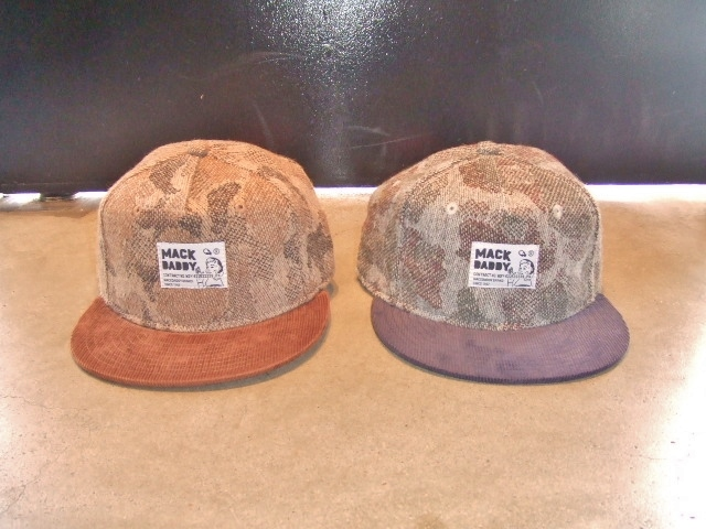 MDY CAMO WOOL SNAP BACK CAP