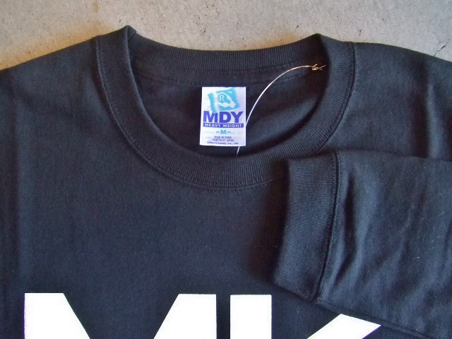 MDY MKDY LS TEE BLACK FT1