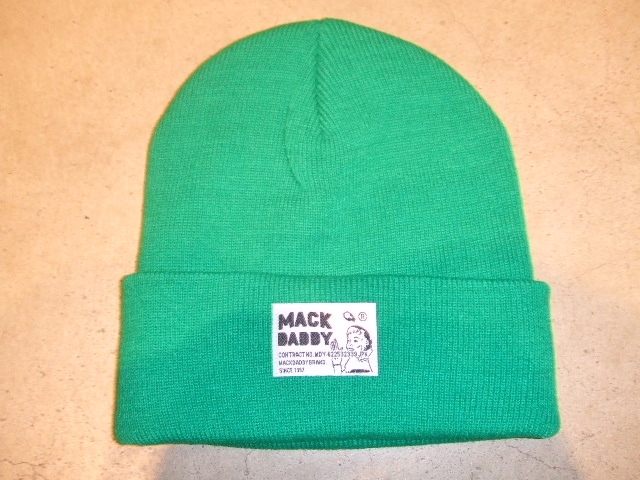 MDY KNIT CAP GREEN FT1