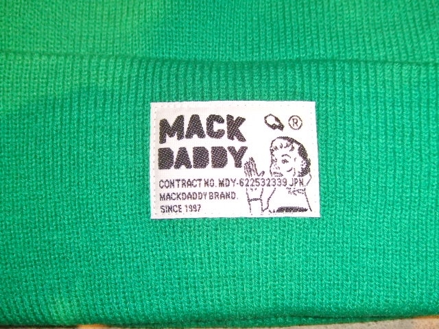 MDY KNIT CAP GREEN FT2