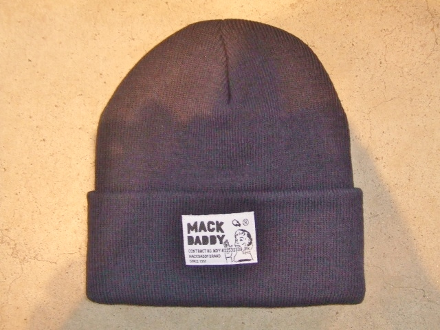 MDY KNIT CAP NAVY FT1