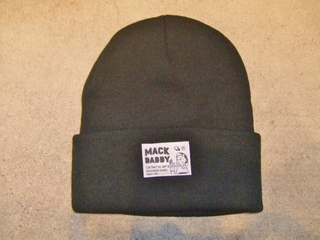 MDY KNIT CAP BLACK FT1