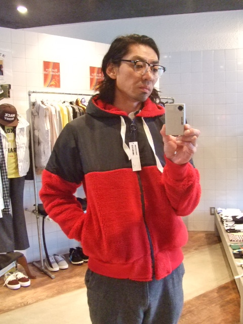 MDY MIXED HOODED BLOUSON ST
