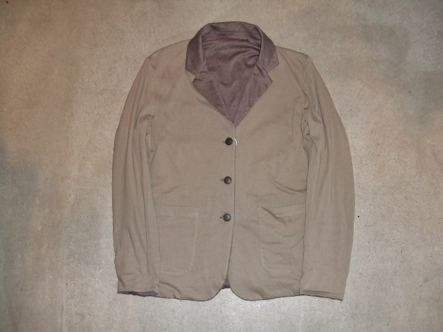 rehacer Reversible cut tailored jacket BEIGE FT1