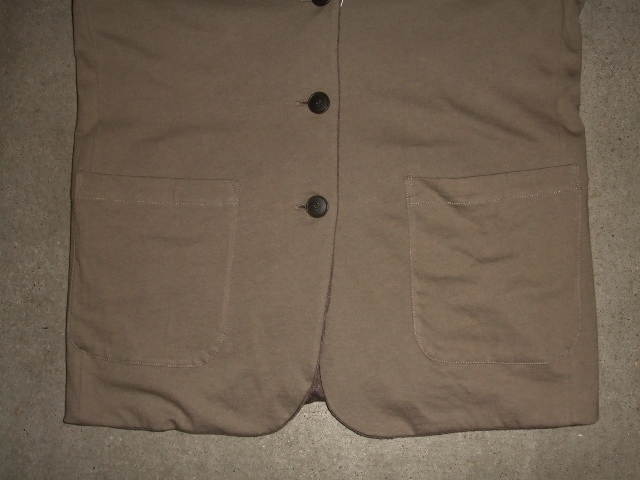 rehacer Reversible cut tailored jacket BEIGE FT3