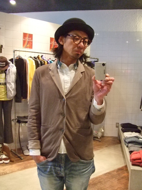 rehacer Reversible cut tailored jacket ST1