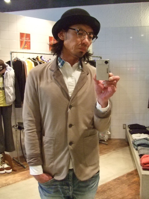 rehacer Reversible cut tailored jacket GRAY ST2