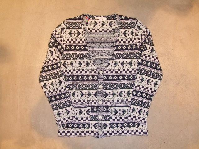 rehacer Cotton Jacquard cardigan