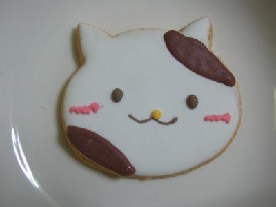 食べる猫クッキー2