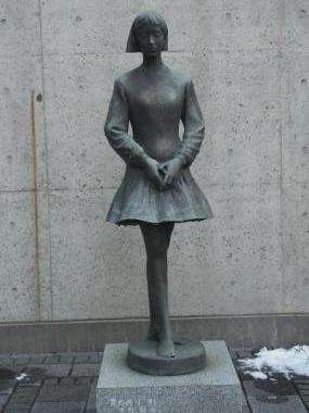 彫刻京子縮小
