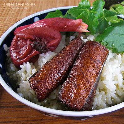 燻製鮭ハラミのお茶漬け*おウチご飯02