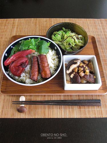 燻製鮭ハラミのお茶漬け*おウチご飯03