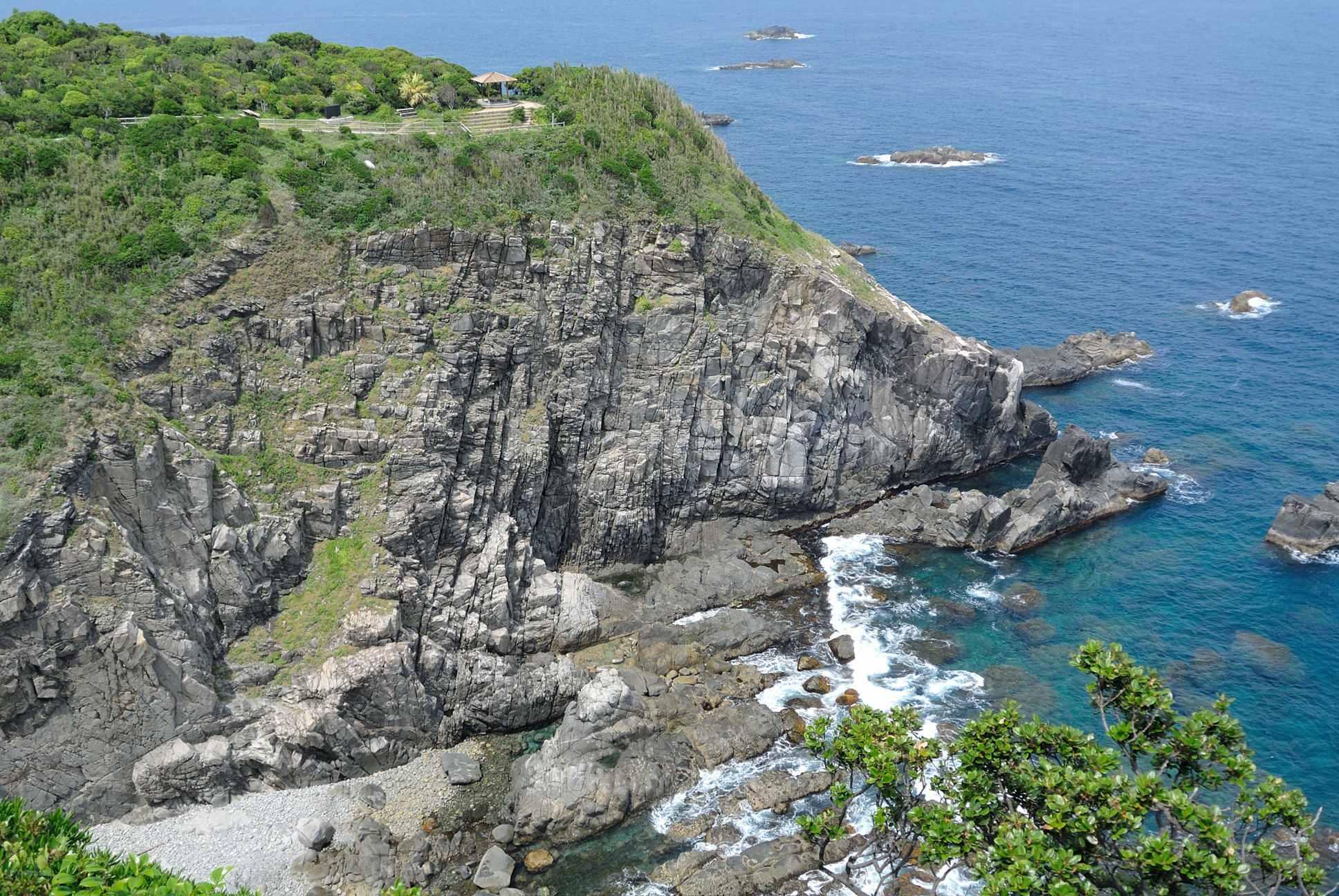 足摺岬からの景色