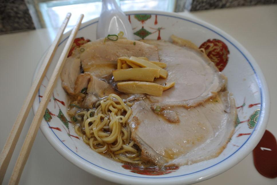 朱華園のチャーシュー麺