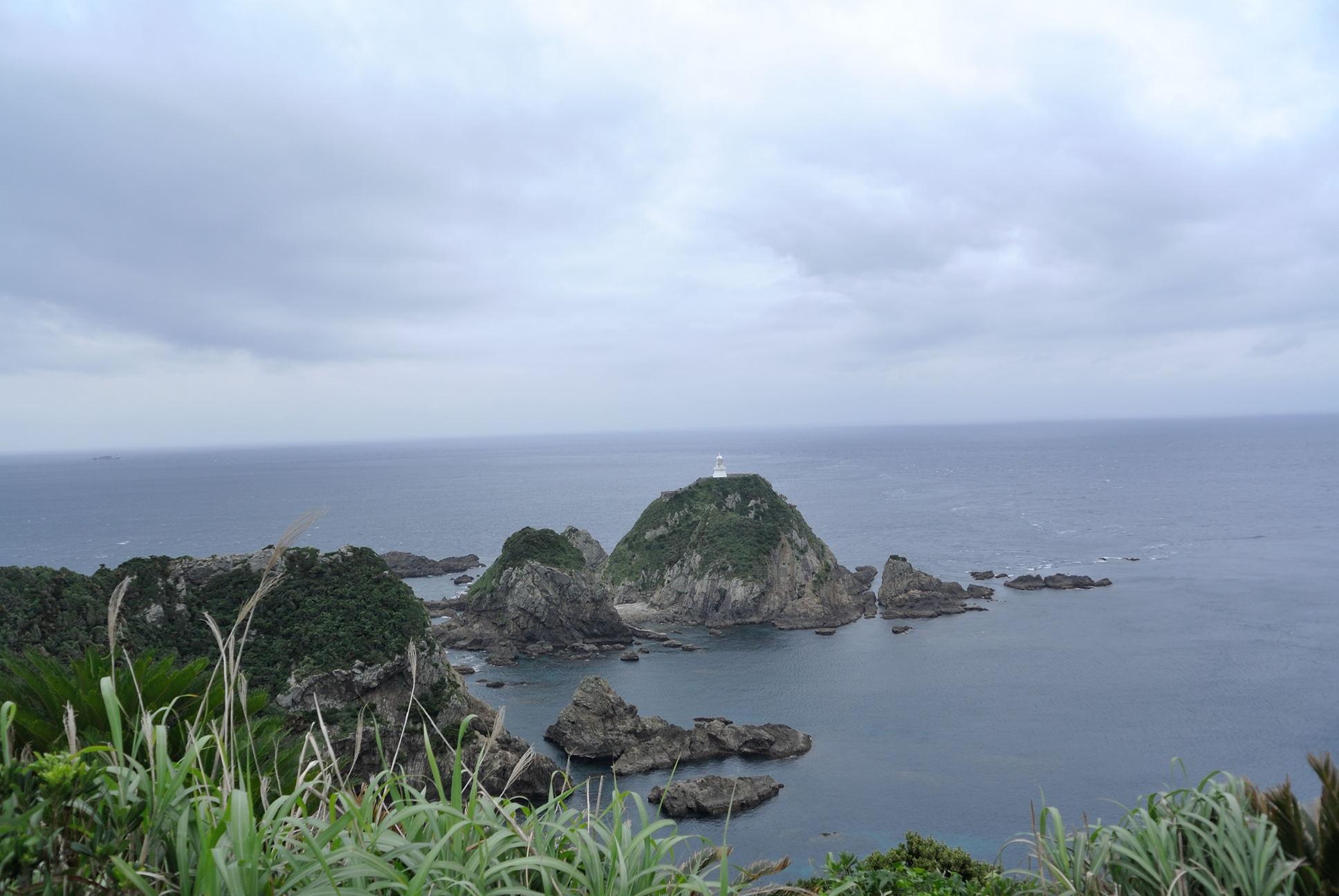 佐多岬展望台からの眺め