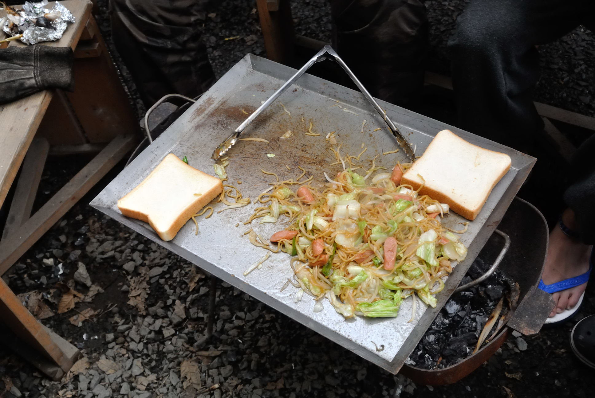焼きそばパンまで作っていますin屋久島