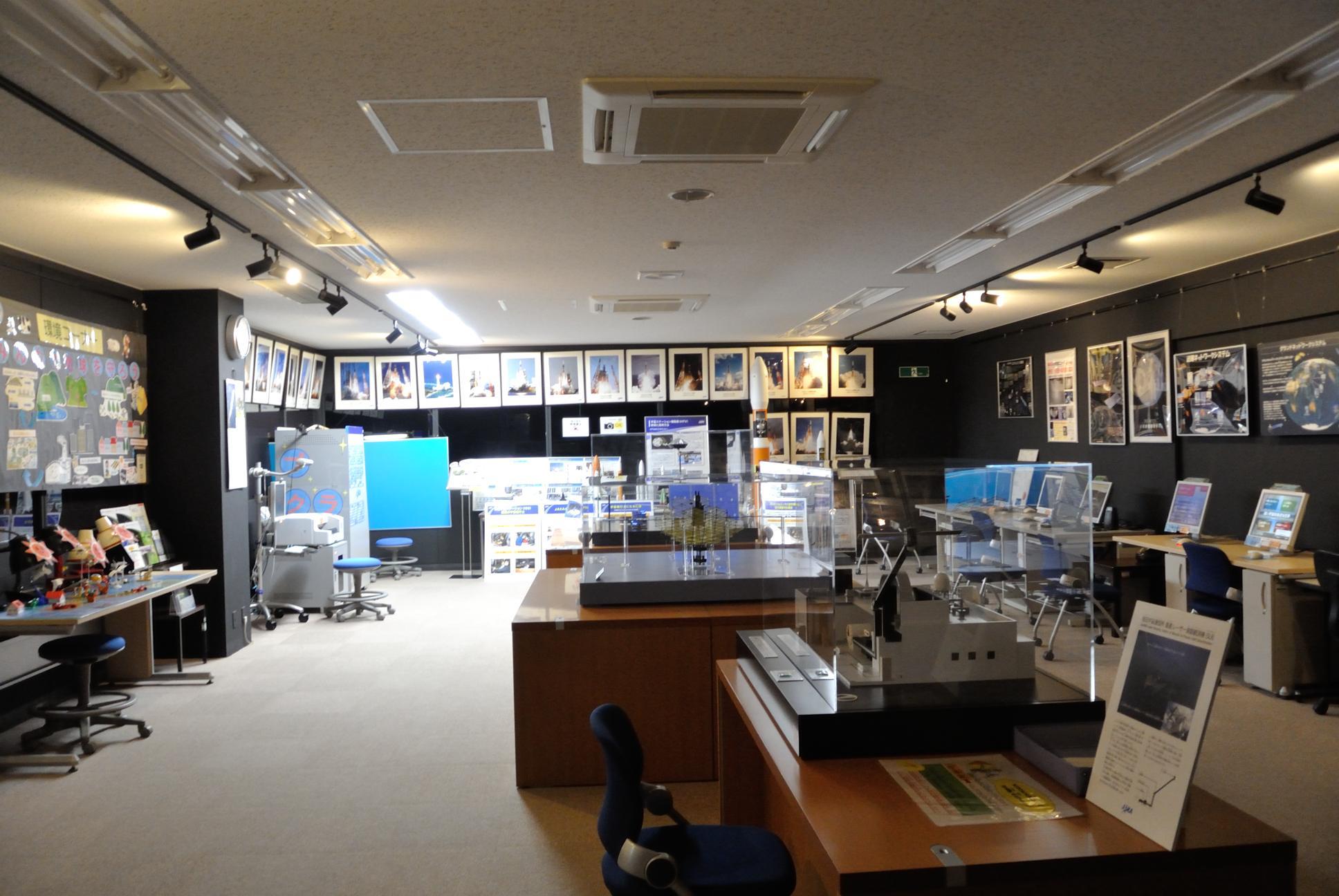 増田宇宙通信所展示室