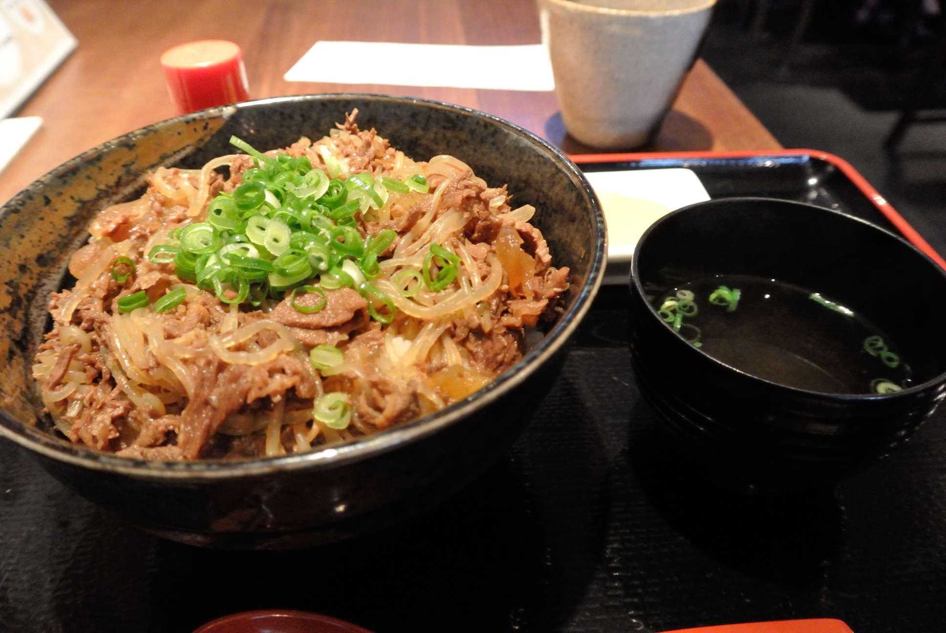 馬丼580円