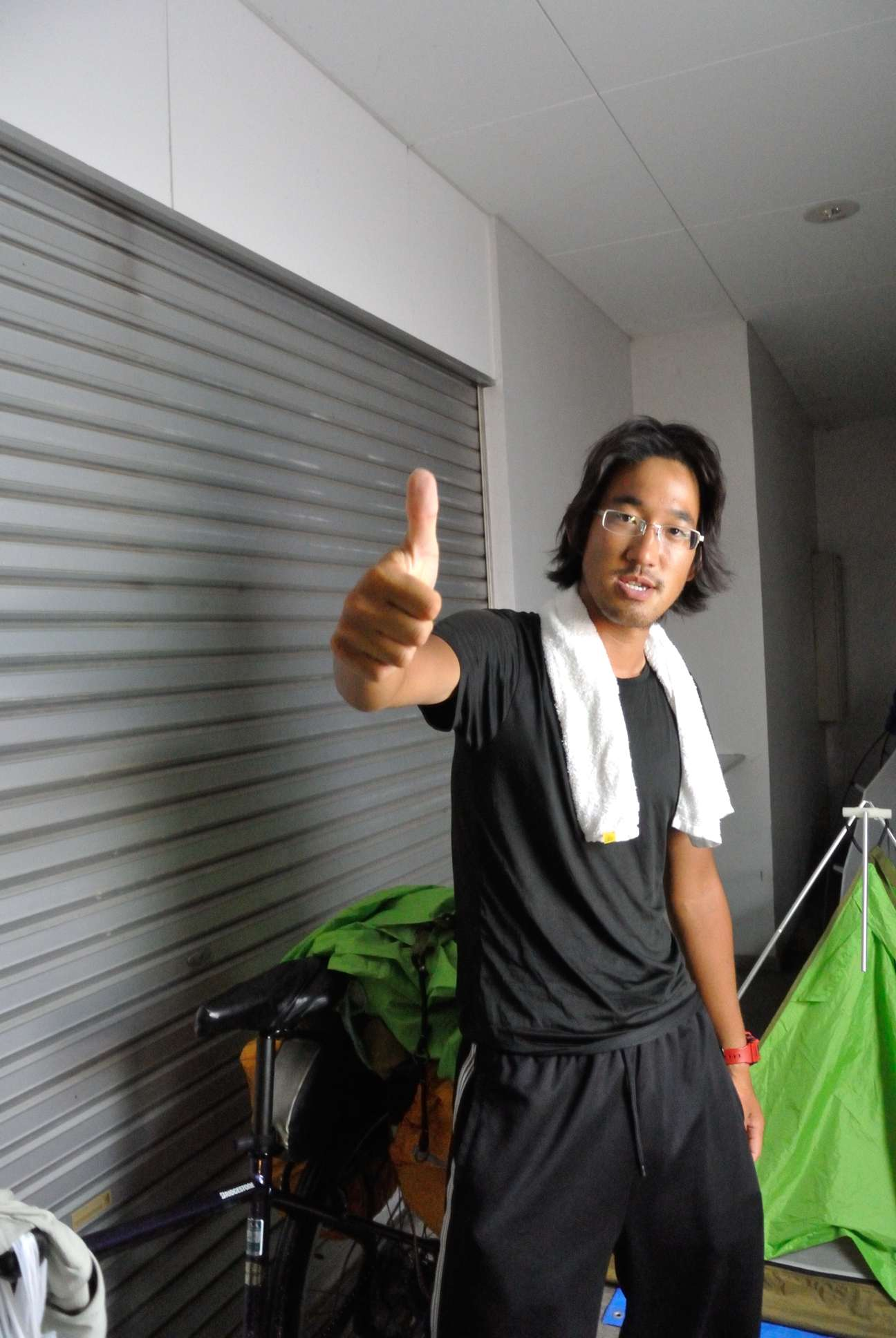 大阪出身のチヤリダー嘉本さん
