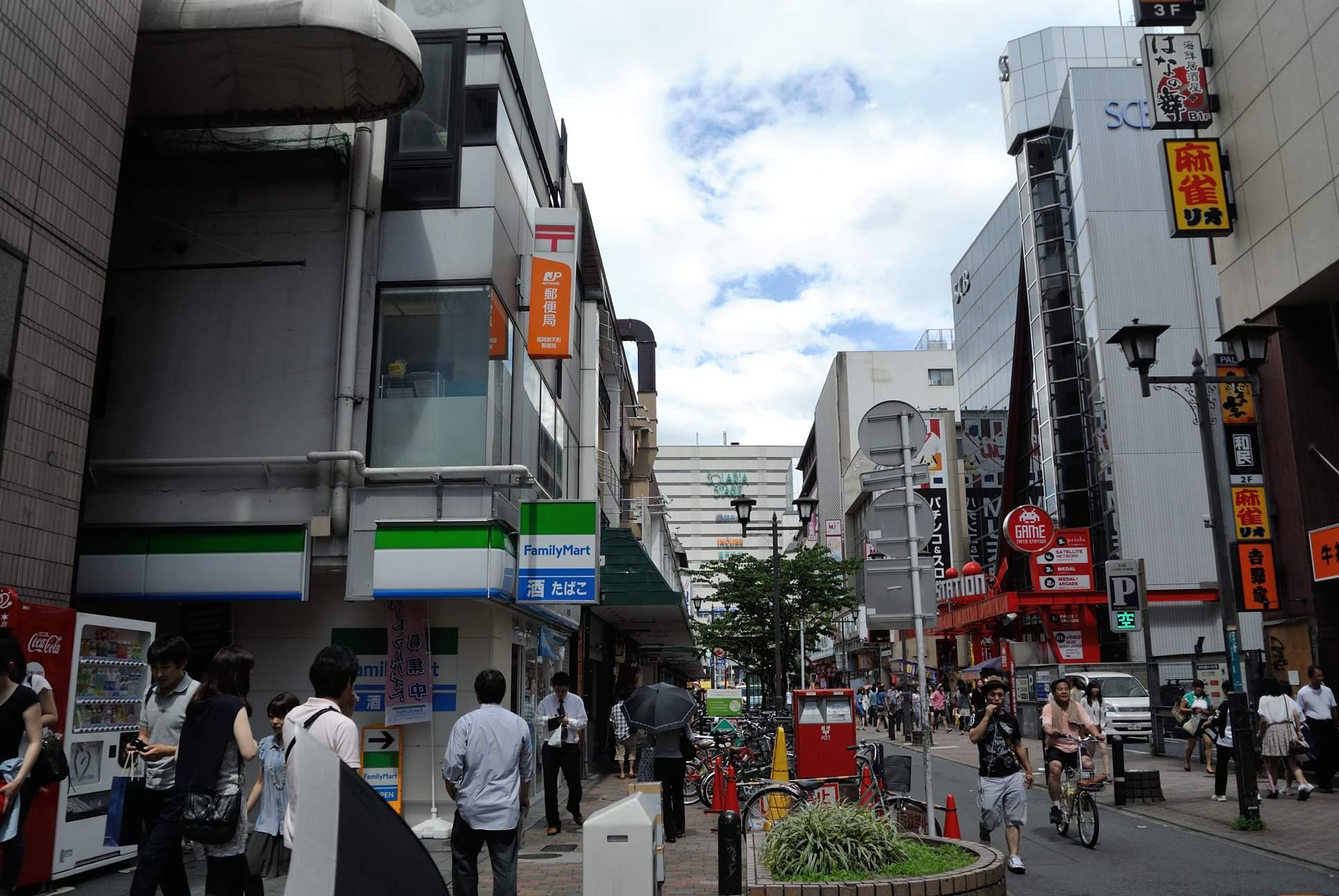 (福岡)天神駅前
