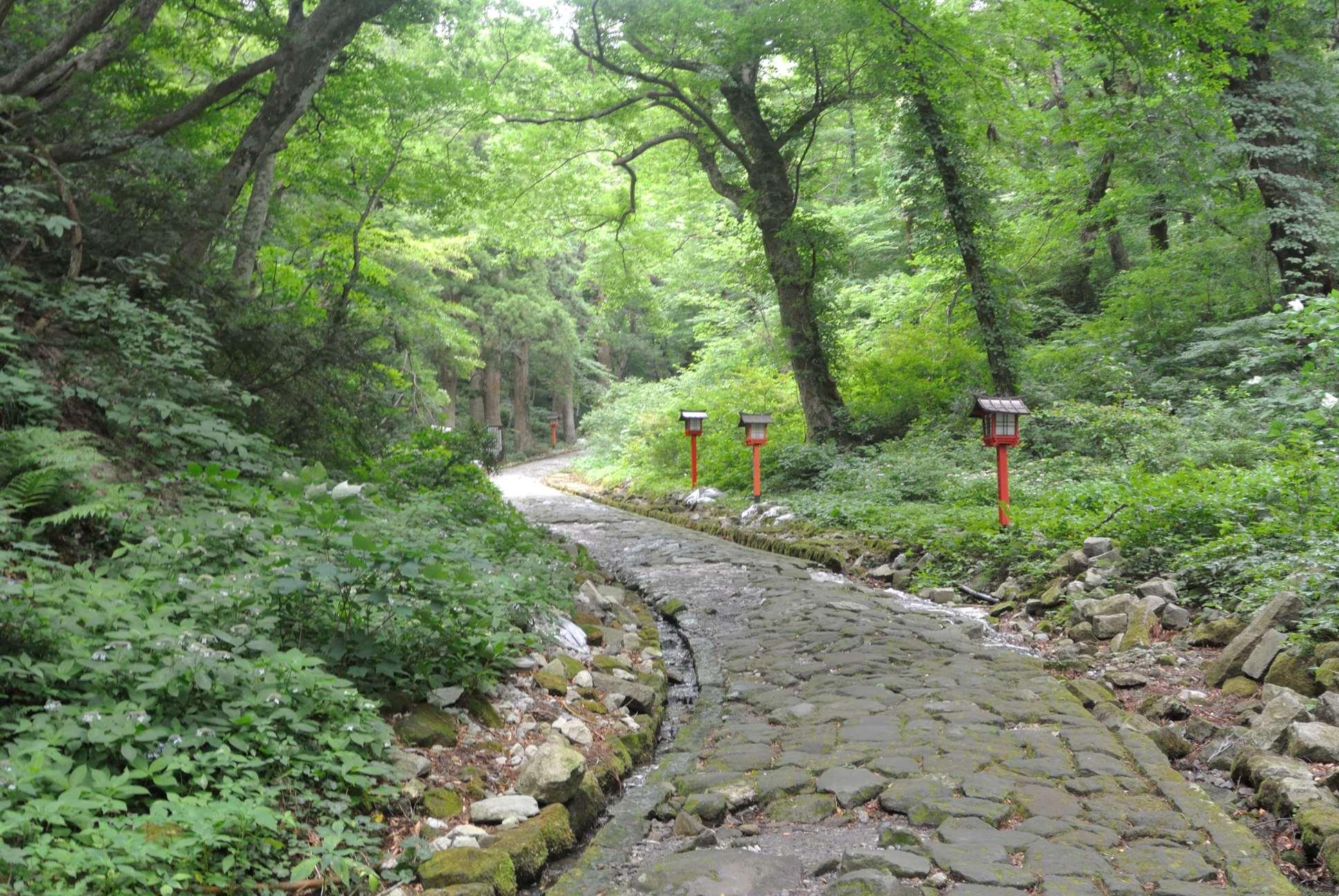 大神山神社奥野宮へ2