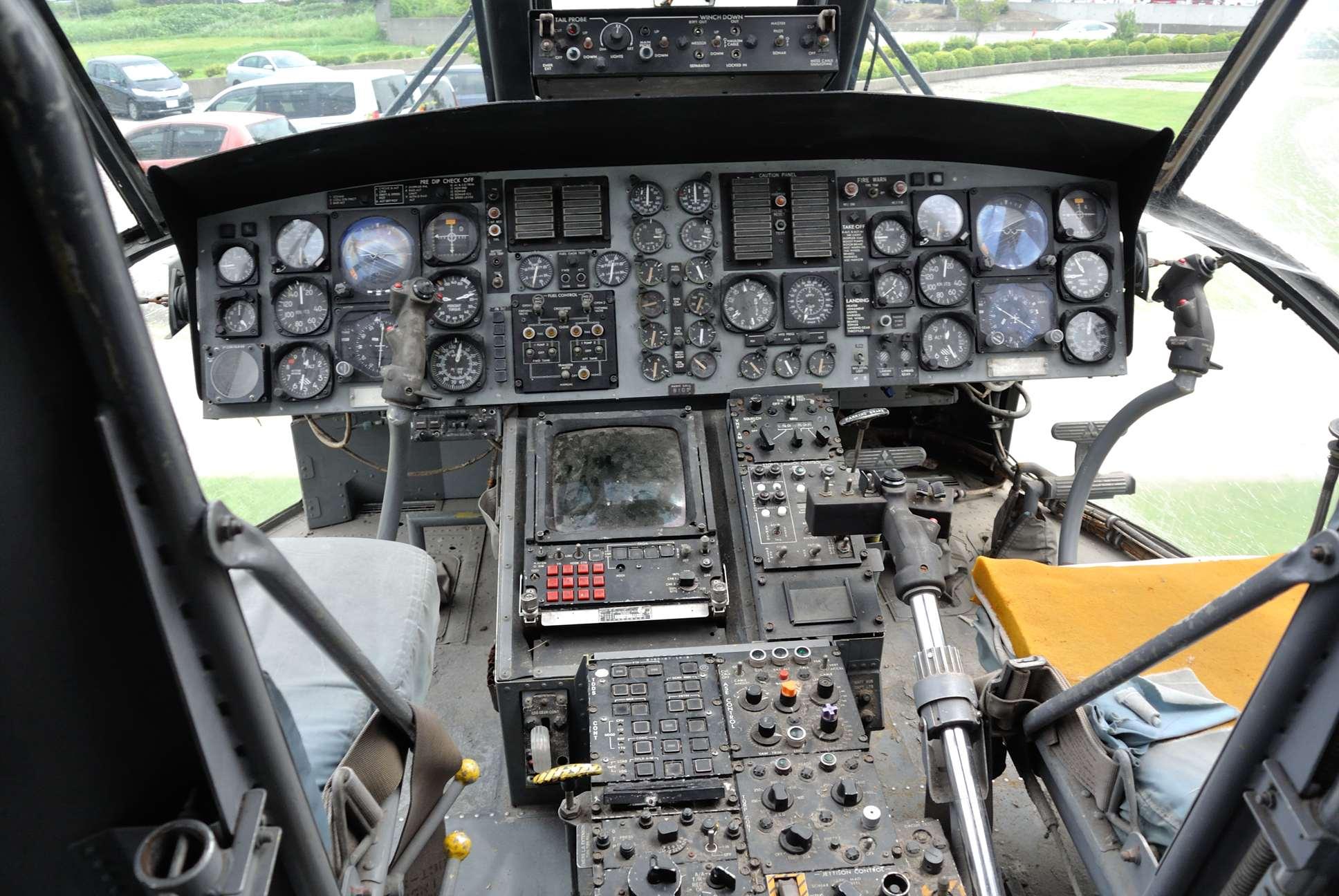 HSS-2Bの内部