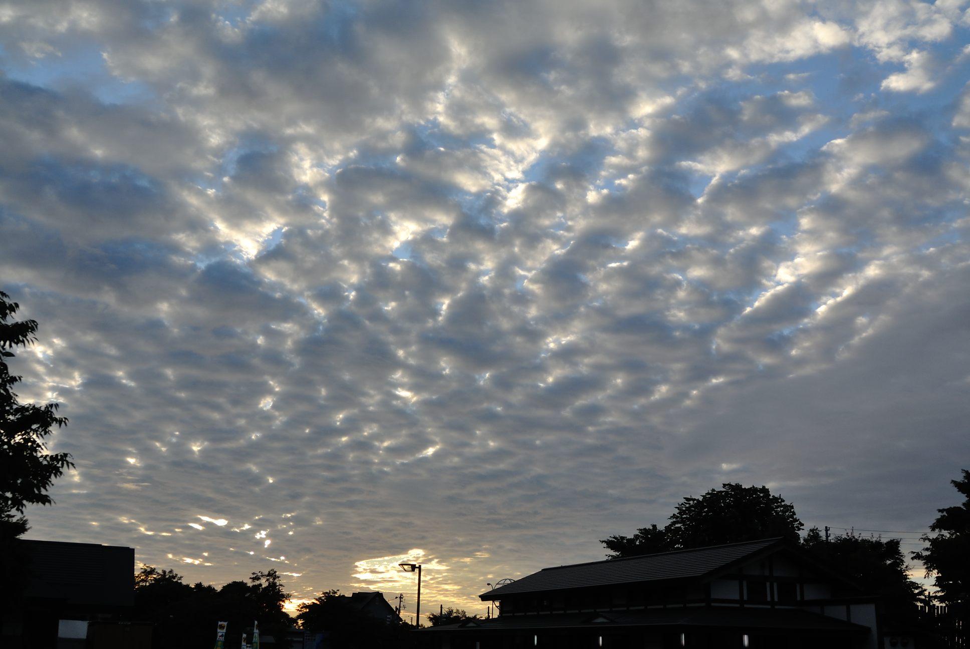 道の駅より雲の撮影