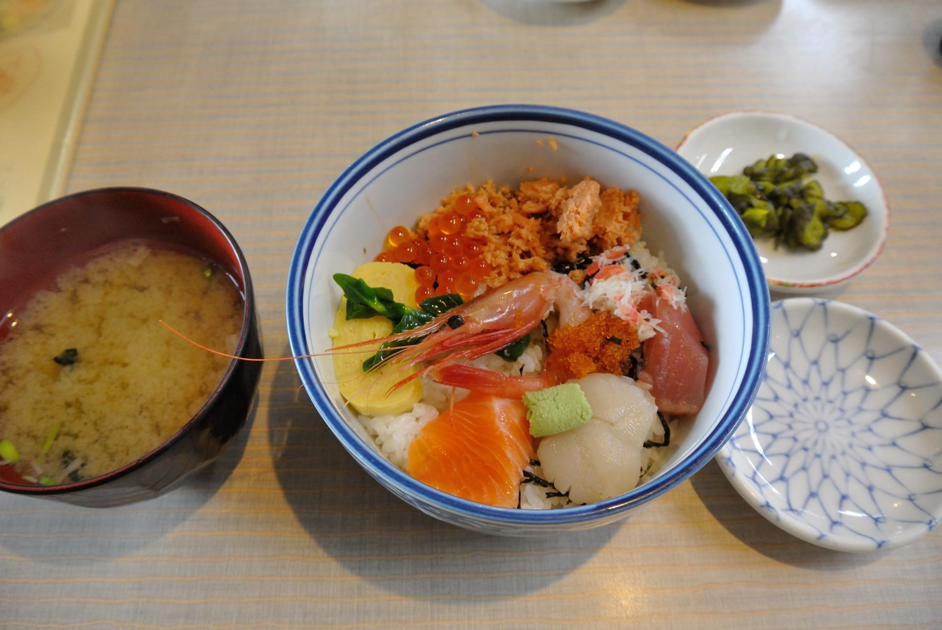 海鮮丼@500円
