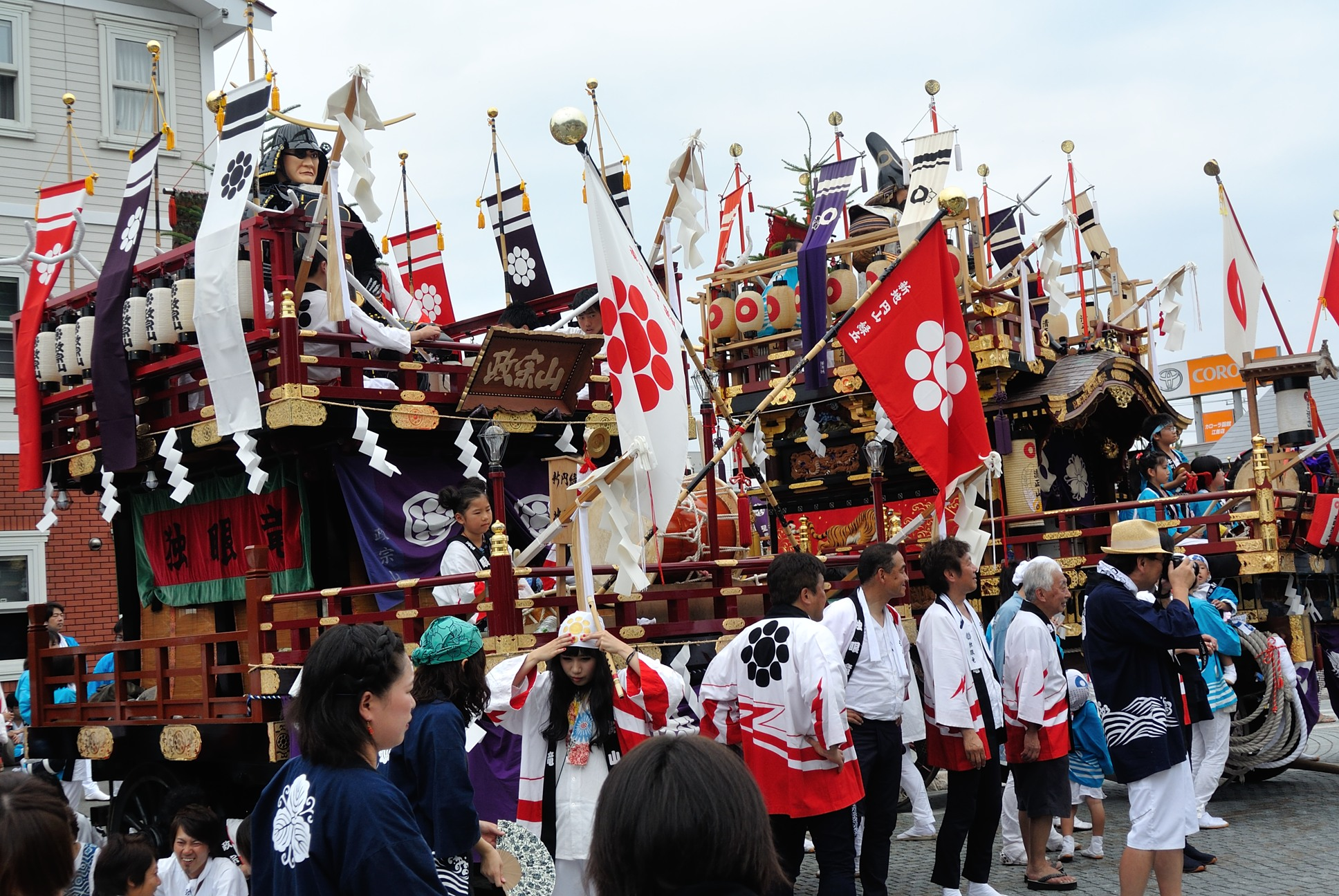 姥神大神宮の祭り