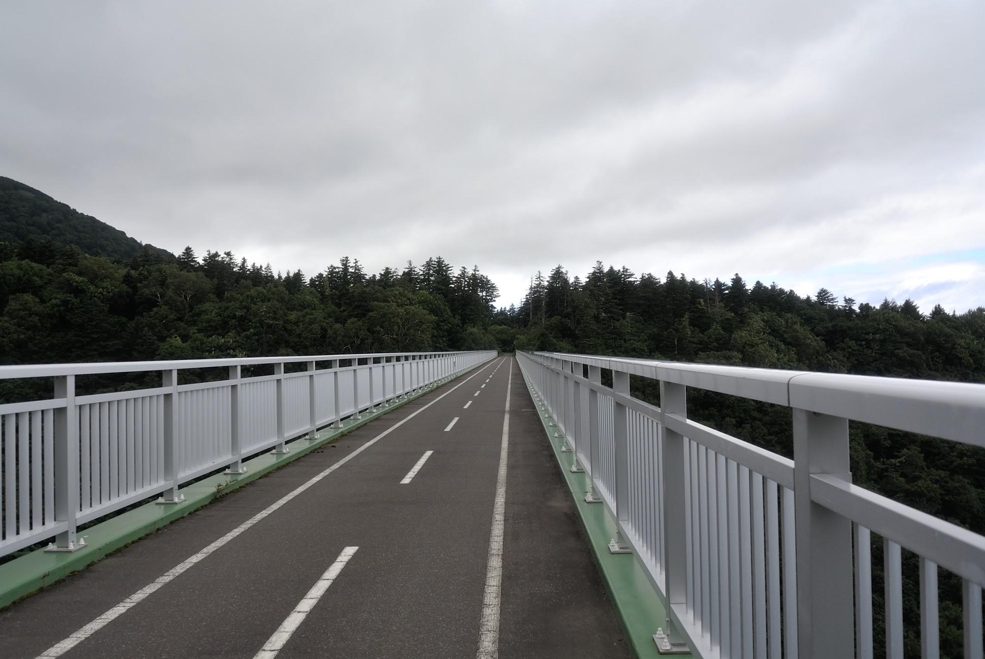 自転車専用道路の橋2