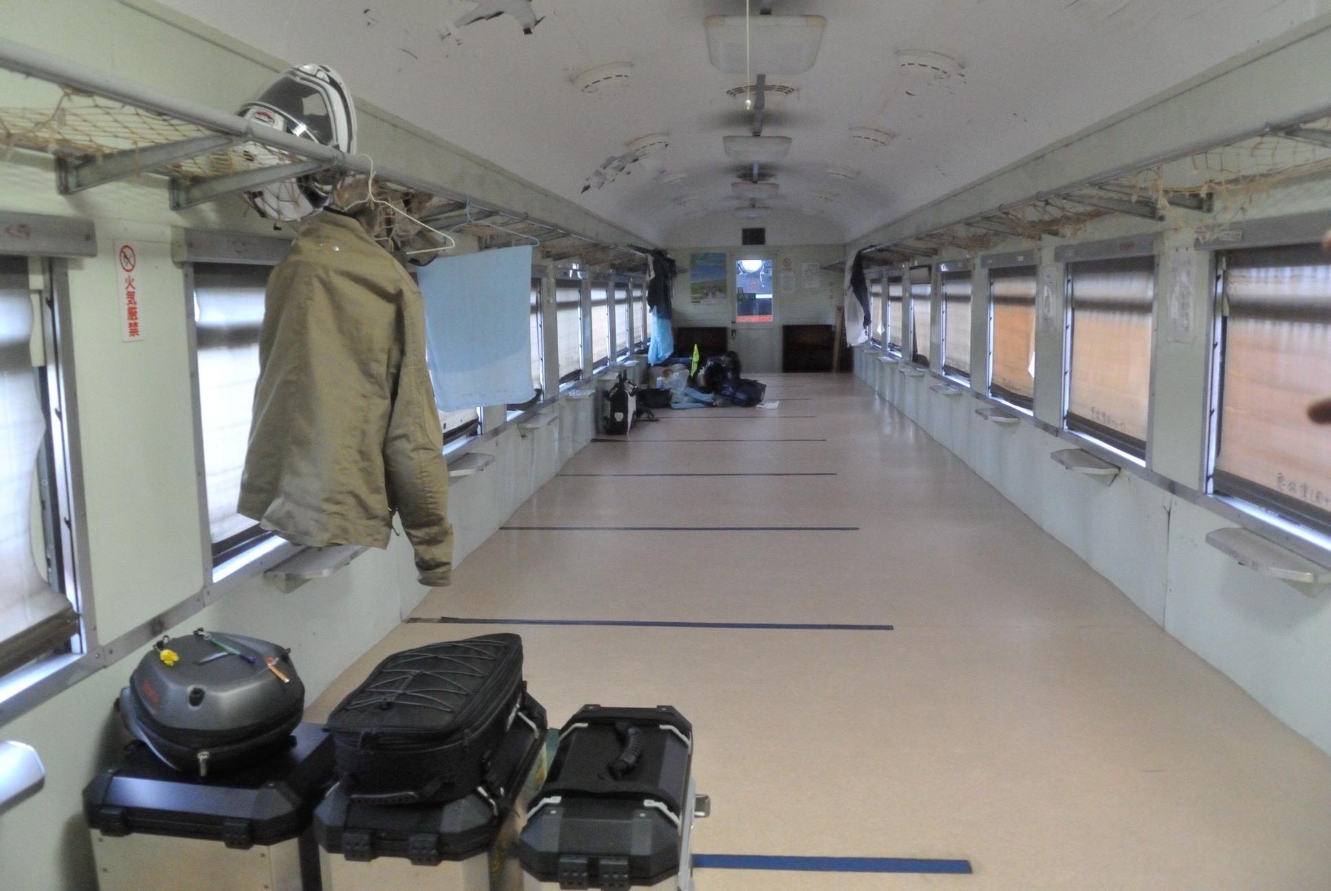 計呂地交通公園のライハの内部