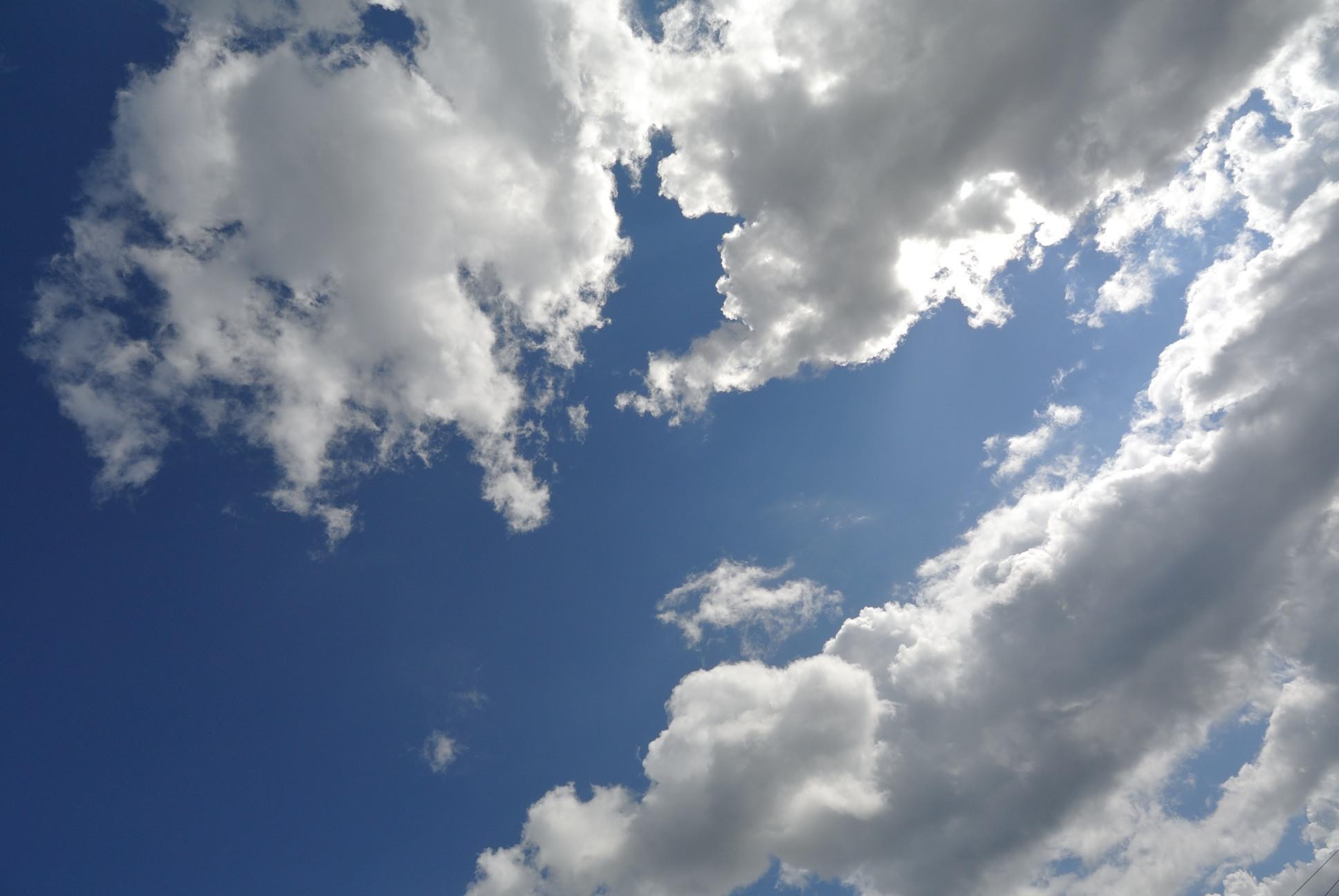 北海道素晴らしい空が久しぶりに