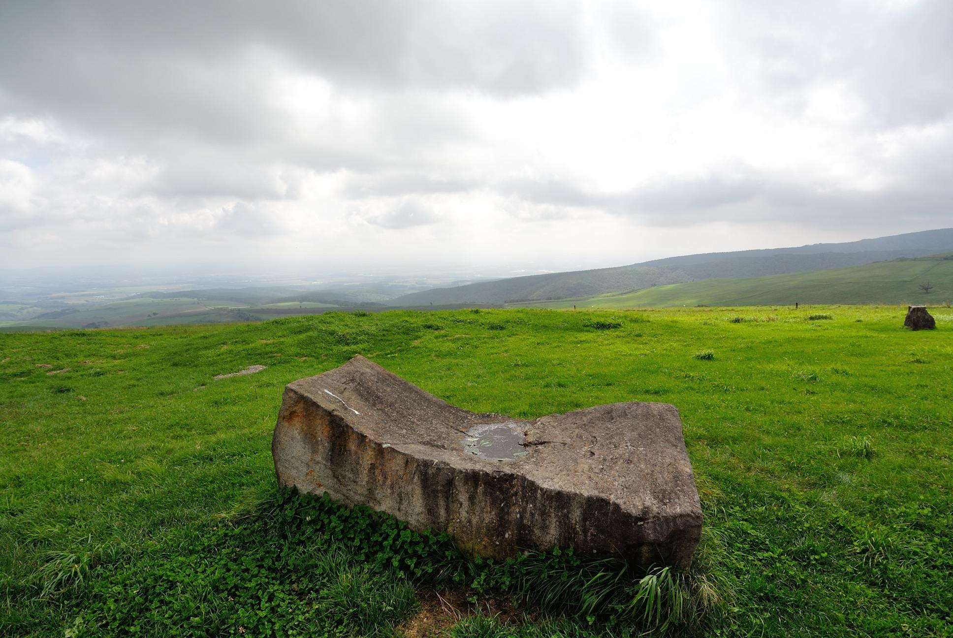 ナイタイ高原石のベッド