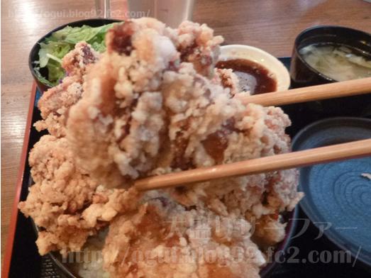 ひなたかなたの唐揚げ丼033