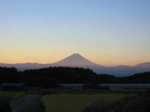今日の富士山1