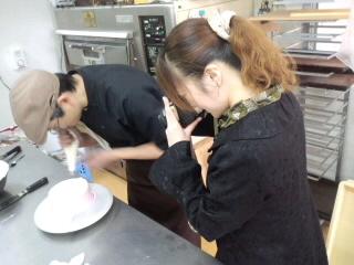 2013Xmasケーキ撮影