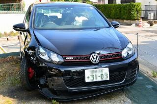 VWの事故車
