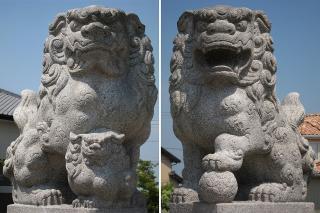 三宮神社の狛犬