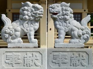 岩田八幡宮の狛犬