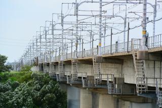 東海道新幹線 矢作川橋りょう