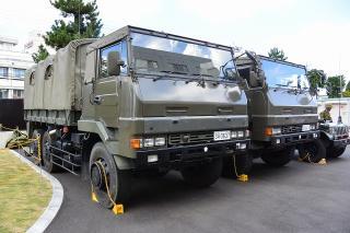 73式大型トラック 3 1/2tトラック